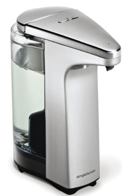 Simple human automatische zeepdispenser