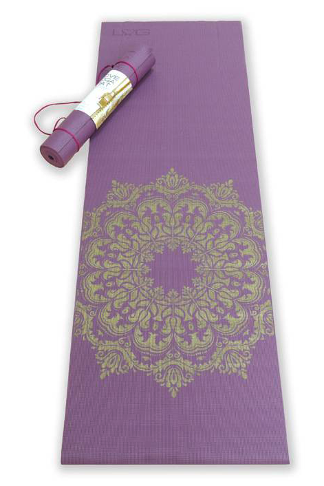 paarse yoga mat