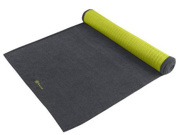 microvezel Yoga Handdoek Grip Citron Storm