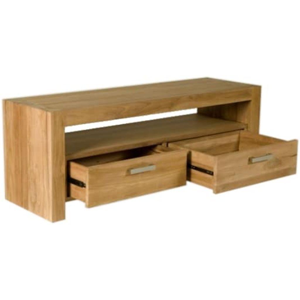 Teak houten tv meubels beste for Houten meubels