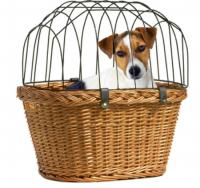 Hondenfietsmand - fietsmand voor u hond