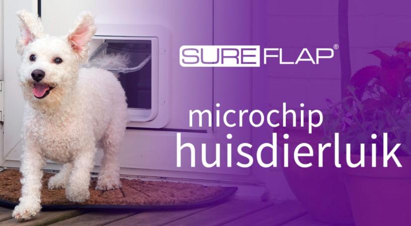 SureFlap microchip - hondenluik of katten