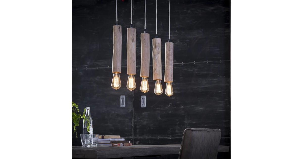 Hanglamp 5x eucalyptus / Eucalyptus