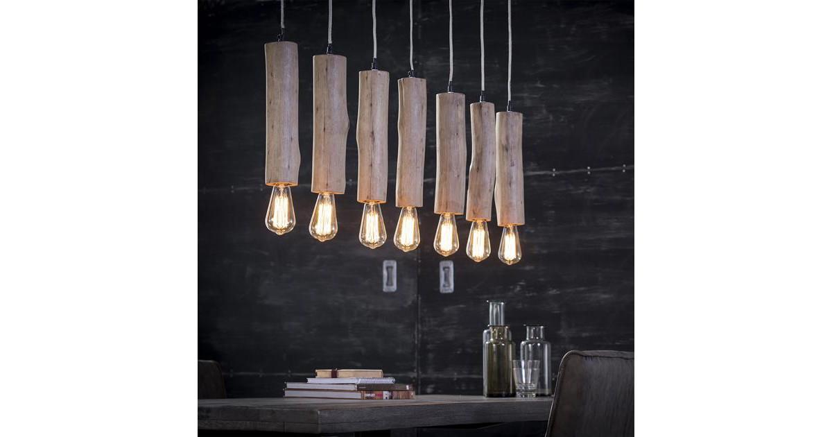 Hanglamp 7x eucalyptus / Eucalyptus