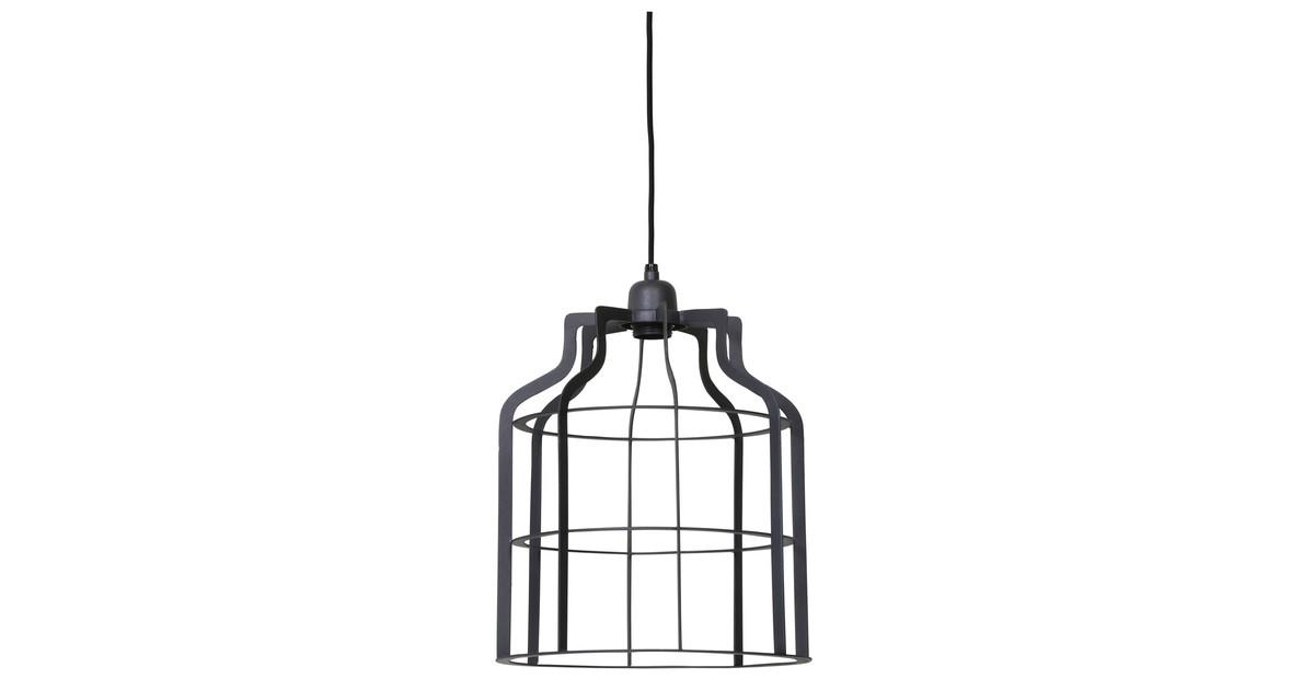 Hanglamp ADINE draad - Industrieel Grijs - L