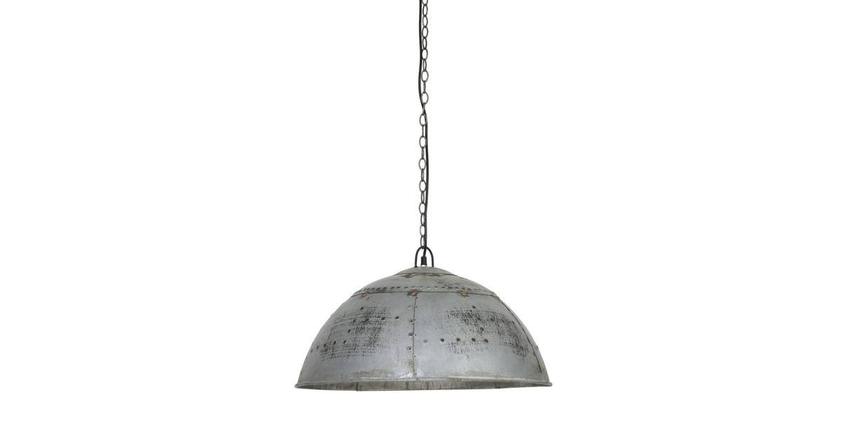 Hanglamp MARCHA - Industrieel Groen/Zilver