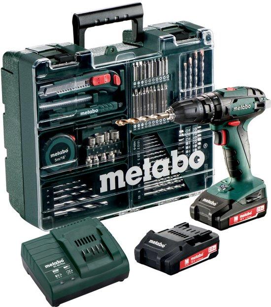 Metabo Accu klopboormachine 18 Volt SB 18 Mobile Workshop
