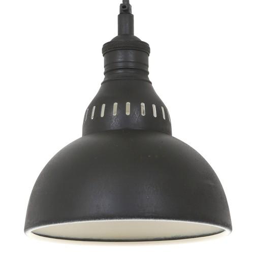 Nostaluce Dakota Hanglamp Antiek Zwart