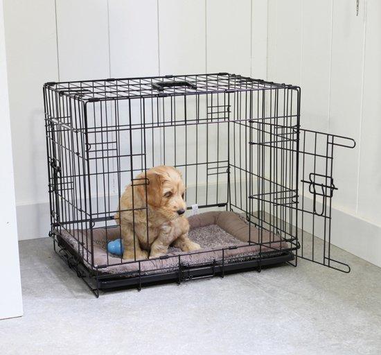 Adori Hondenbench - Zwart - L - 92 x 57 x 64 cm